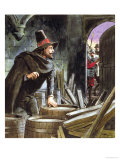 """Guy Fawkes, from """"Peeps into the Past,"""" Published circa 1900 Giclee Print by Trelleek"""