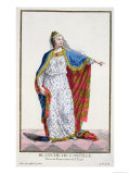 Blanche De Castile Queen of France from Receuil Des Estampes Giclee Print by Pierre Duflos