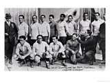 The Uruguay Football Team at the Paris Olympic Games, 1924 Giclee Print