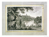 Calling Card of Humphrey Repton Giclee Print by Humphry Repton