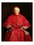 Portrait of Cardinal Newman Giclee Print by John Everett Millais