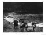 Viaticum on a Beach in Normandy, 1874 Giclee Print by Maurice Poirson