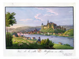 View of the Town of Meissen, Birth Place of Christian Samuel Hannemann Giclee Print