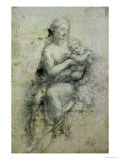 Madonna and Child Giclee Print by  Raphael