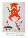 My, the Glowing Red One! Premium Giclee Print by Hans Christian Andersen