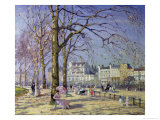 Spring in Hyde Park Giclee Print by Alice Taite Fanner