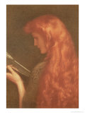 Making Music Giclee Print by Edward Robert Hughes