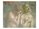 Adam and Eve Banished from Paradise, circa 1427 (Pre-Restoration) (Detail) Giclee Print by Tommaso Masaccio