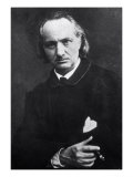 Charles Baudelaire with a Cigar, 1864 Premium Giclee Print by Charles Neyt