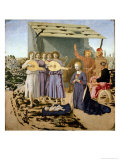 Nativity, 1470-75 Giclee Print by  Piero della Francesca