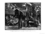 On Board an Emigrant Ship at the Time of the Irish Famine Giclee Print by William Heysham Overend