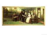 Andrew Marvell Visiting His Friend John Milton Giclee Print by George Henry Boughton