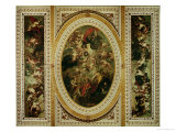 The Whitehall Ceiling: the Apotheosis of James I 1632-34 Giclee Print by Peter Paul Rubens