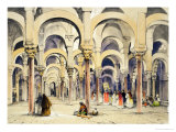 "Mosque at Cordoba, from ""Sketches of Spain"" Giclee Print by John Frederick Lewis"