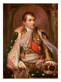 Napoleon Bonaparte (1769-1821), as King of Italy, 1805 Giclee Print by Andrea the Elder Appiani