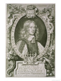 "Bengt Gabrielsson Oxenstierna (1623-1702) from ""Portraits Des Hommes Illustres"" Giclee Print by Anselmus Van Hulle"