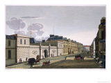 The Bank of France from Rue Croix-Petits-Champs Giclee Print by Henri Courvoisier-Voisin