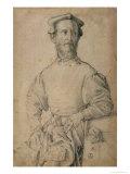 Portrait of Jacopo Pontormo Giclee Print by Agnolo Bronzino