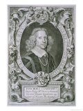 "Joachim Camerarius, from ""Portraits Des Hommes Illustres"" Giclee Print by Anselmus Van Hulle"