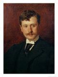 Portrait of Georges Feydeau Giclee Print by Charles Émile Carolus-Duran