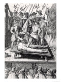 Execution of Catholics in England During the Reign of Elizabeth I Giclee Print by Franz Hogenberg