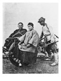 Chinese Rickshaw, circa 1870 Giclee Print by John Thomson