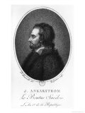 Portrait of Johan Ankarstrom Giclee Print by Francois Bonneville