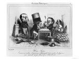 A Seizure, circa 1840 Giclee Print by  Grandville