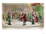 Masonic Ceremony in France Giclee Print