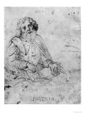 Portrait of Plato Giclee Print by Raphael