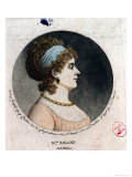 Portrait of Madame Roland Made by the Physionotrace Method Giclee Print by Jean Fouquet
