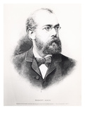 Robert Koch (1843-1910) from &#39;L&#39;Illustration&#39;, 15th November 1890 (Litho) (B/W Photo) Giclee Print by  French