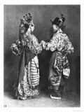 Chinese Actors from Behind, circa 1870 Giclee Print by John Thomson