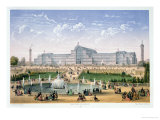 Crystal Palace, Sydenham, circa 1862 Giclee Print by Achille-louis Martinet