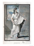 "Orestes, Costume for ""Andromaque"" by Jean Racine Giclee Print by Philippe Chery"