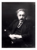 Albert Einstein circa 1922 Giclee Print by Genia Reinberg
