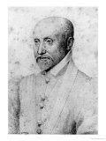 Michel Eyquem De Montaigne Giclee Print by Francois Quesnel