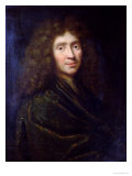 Portrait of Moliere Giclee Print by Pierre Mignard