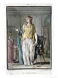 "Hermione, Costume for ""Andromaque"" by Jean Racine Giclee Print by Philippe Chery"