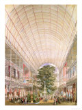 Great Exhibition of 1851. Decoration of the Transept Giclee Print by Owen Jones