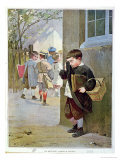 In Detention, 1889 Giclee Print by Jules Jean Geoffroy