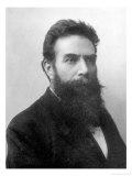 Wilhelm Konrad Roentgen circa 1896, Giclee Print