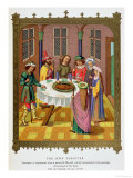 The Jews' Passover, Facsimile of a 15th Century Missal Ornamented with Paintings, Giclee Print