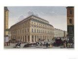 Le Theatre Francaise circa 1815-20 Giclee Print by Henri Courvoisier-Voisin