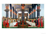 The Wedding Feast Premium Giclee Print by Sandro Botticelli