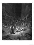 "Heresiarchs, Illustration from ""The Divine Comedy"" by Dante Alighieri Paris, Published 1885 Reproduction procédé giclée par Gustave Doré"
