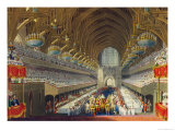 The Royal Banquet, First Course Giclee Print by Charles Wild