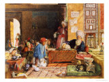 Interior of a School, Cairo, 1890 Giclee Print by John Frederick Lewis