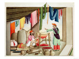 Dyer in India Giclee Print