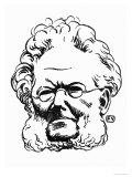 Henrik Ibsen Giclee Print by F&#233;lix Vallotton